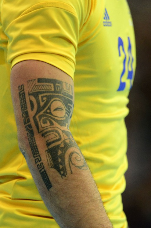 2012 Olympic Tattoo On Forearm