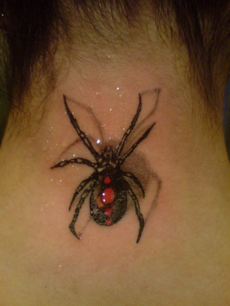 3D Pen And Neck Tattoos
