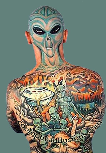 Alien Tattoo Image