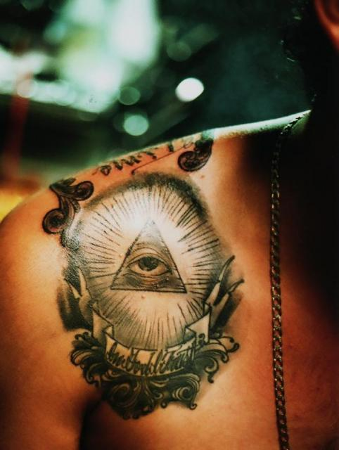 2caf325c864b4 All Seeing Eye Forearm Tattoo Design Photo - 3 2017: Real Photo ...