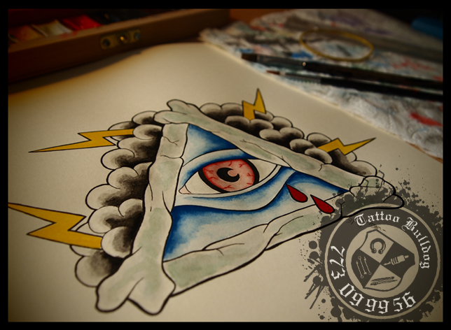 All Seeing Eye Tattoo Graphic