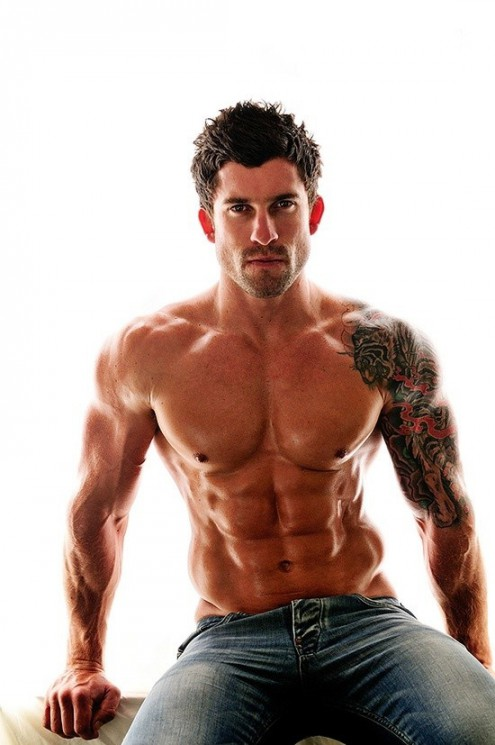 Amazing 6 Packs And Left Muscle Tattoos