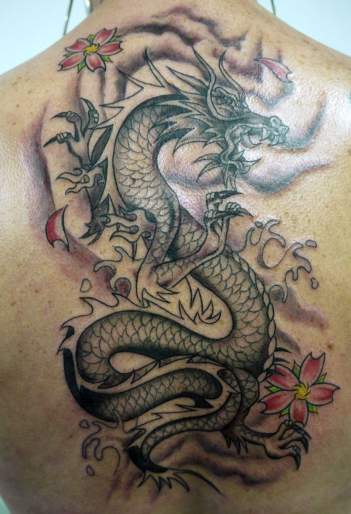 Amazing Asian Dragon Tattoo Designs