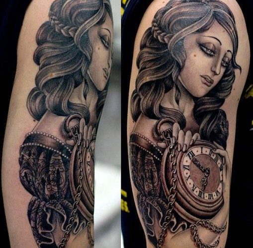 Amazing Asian Tattoo For Arm