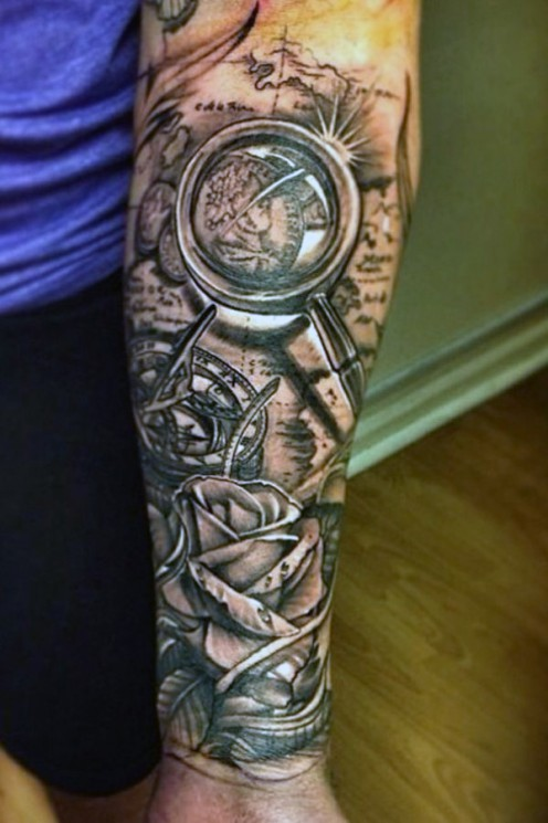 Amazing Sports Tattoo On Forearm