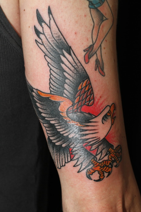 Amazing Traditional Tattoos On Arms