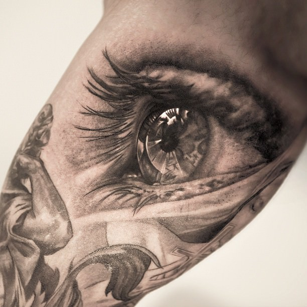 An Eye Tattoo