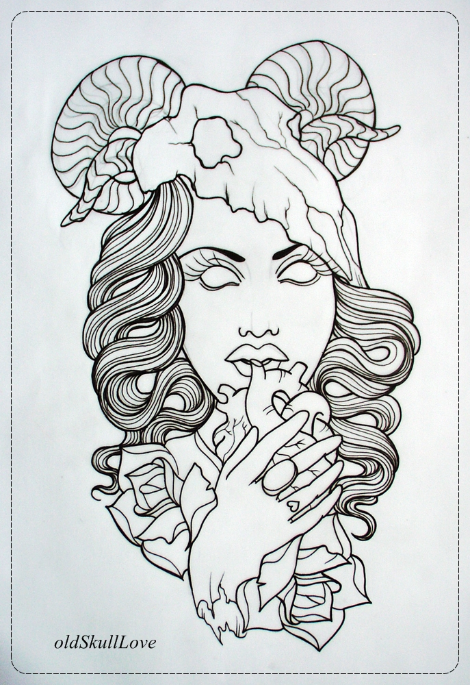 Tattoo Drawing Outline : Anchor outline tattoo photo  real pictures