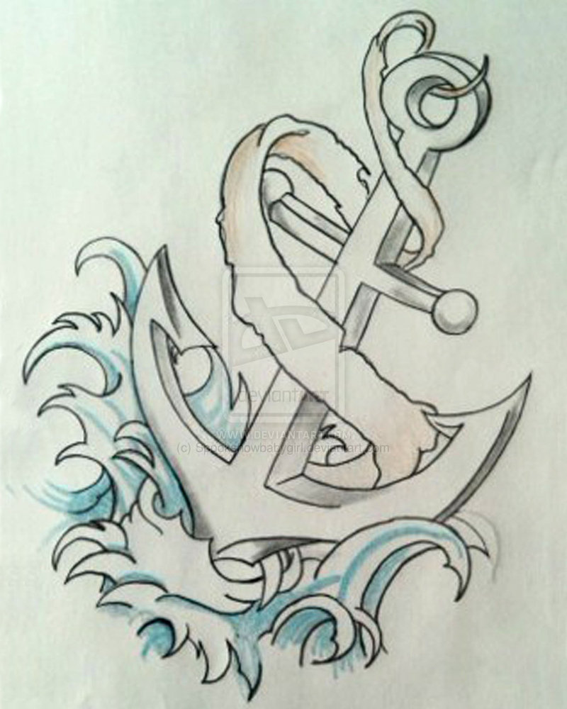 Anchor Outline Tattoo Design Photo 1 2017 Real Photo Pictures Images And Sketches Tattoo Collections