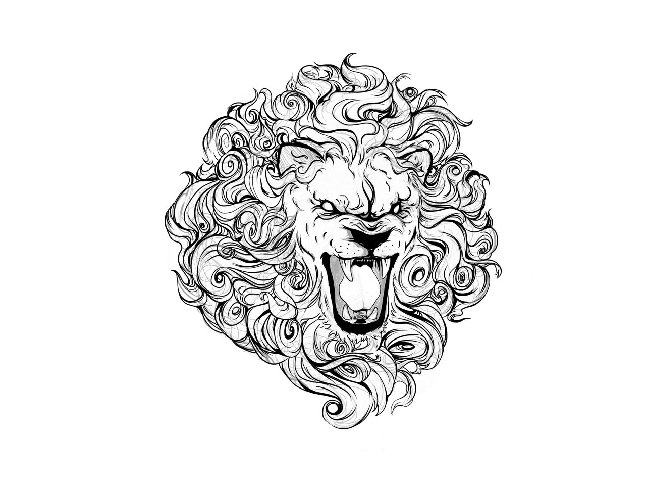 angry lion tattoo design in 2017 real photo pictures images and sketches tattoo collections. Black Bedroom Furniture Sets. Home Design Ideas