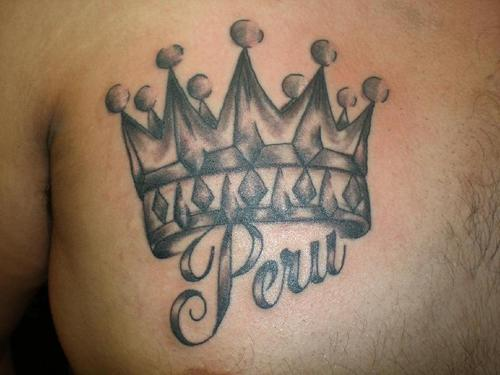 Another Crown Tattoo Design