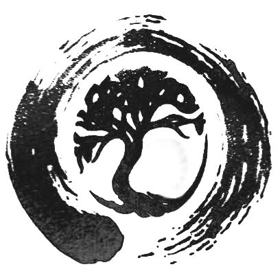 Another Tree Circle Tattoo Design