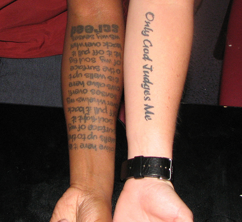Arabic Tattoo On Arm For Men Photo 2 2017 Real Photo