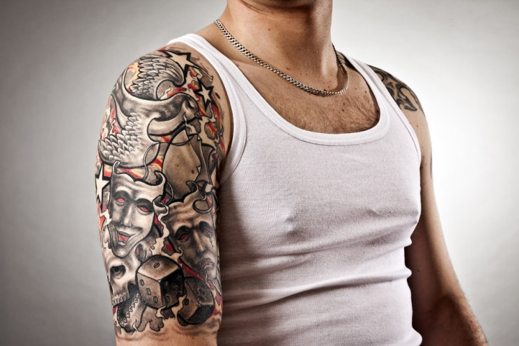 Arm Tattoo For Guys Image