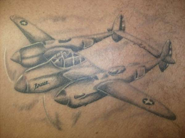 Army Helicopter Tattoo On Biceps