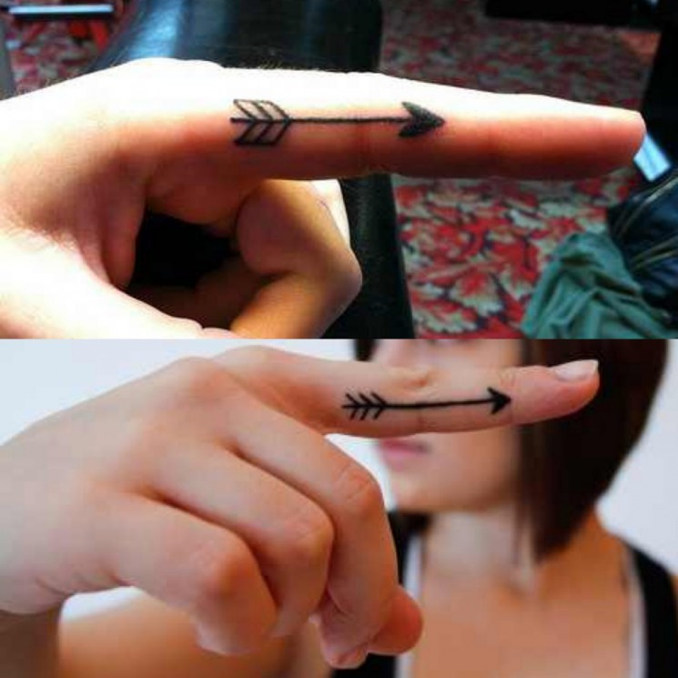Arrow Finger Tattoos