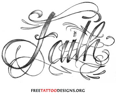 Banner & Cherries Tattoo Design