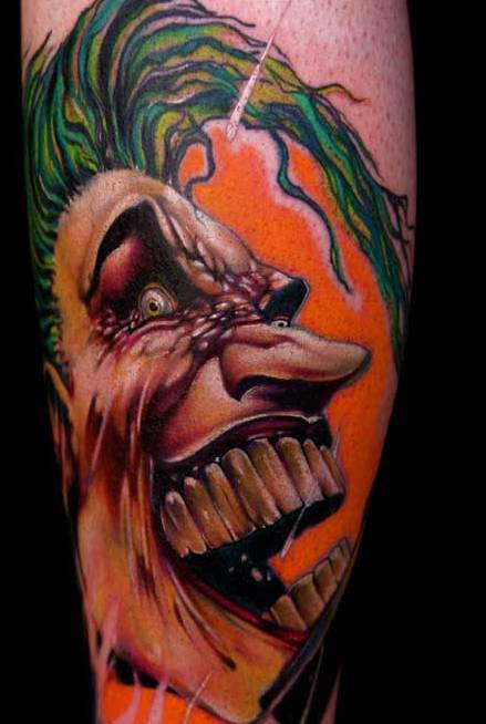 Awesome Joker Tattoo Picture