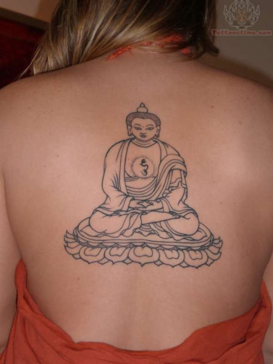 Awesome Religious Buddhist Tattoo