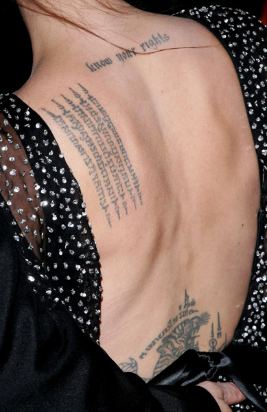 Barcode Back Neck Tattoo For Girls