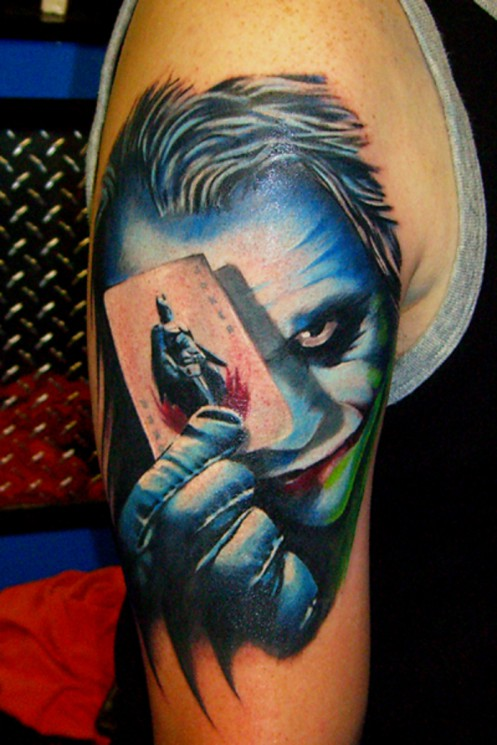 Batman And Joker Tattoo Images