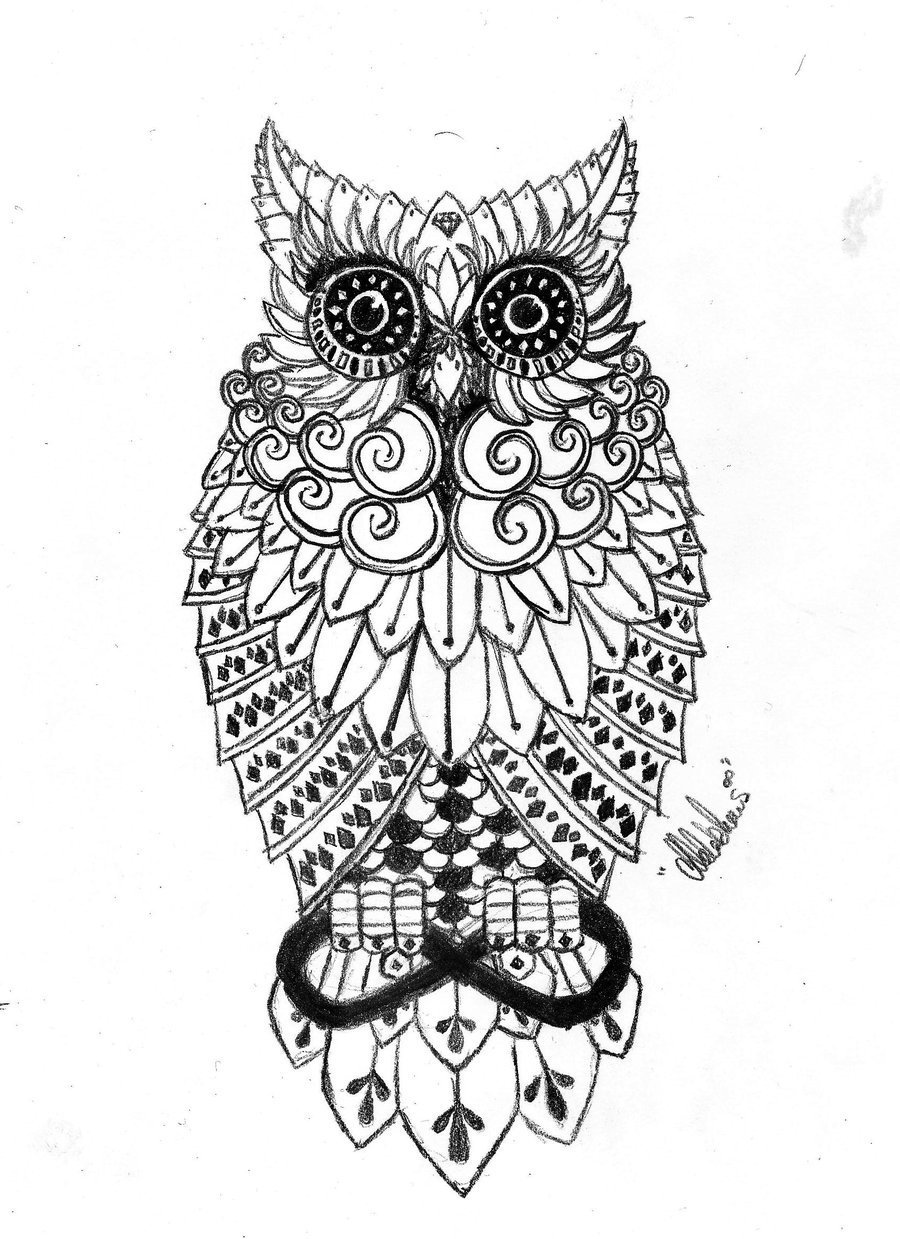 All Images To Beautiful Owl Tattoo On Arm