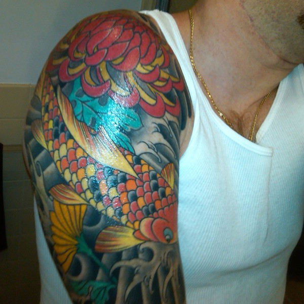 Best Colorful Sleeve Tattoos For Men