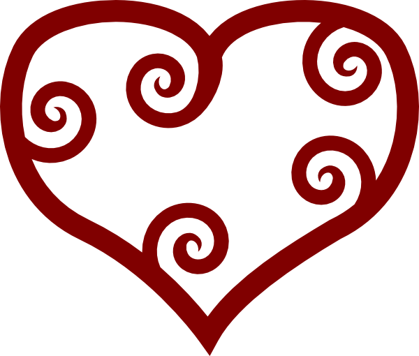 Black And White Stars And Heart Tattoo Designs
