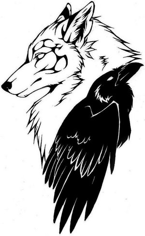 701d5fd611049 Black Gothic Head Of A Wolf Tattoo Design On A White Background in 2017:  Real Photo, Pictures, Images and Sketches – Tattoo Collections