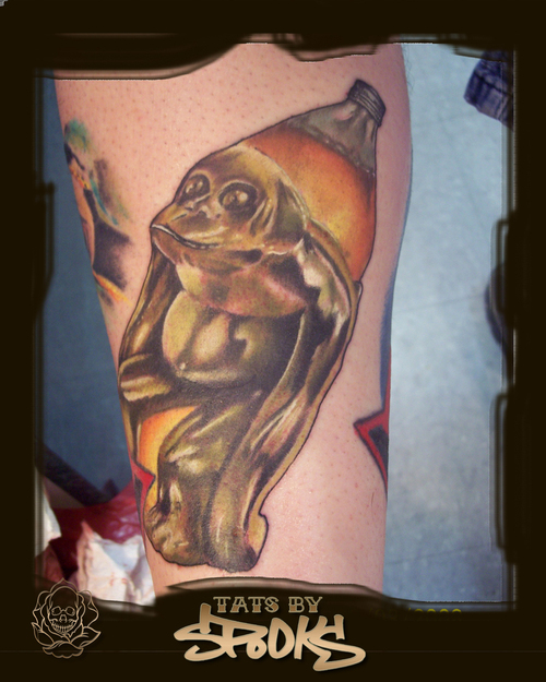 Brass Monkey Tattoo Design