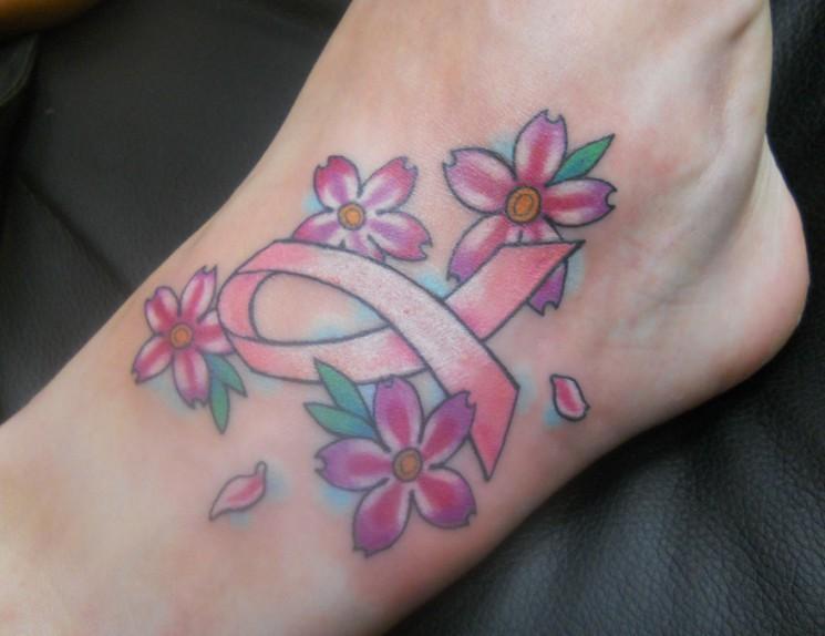 Breast Cancer Awareness Tattoo