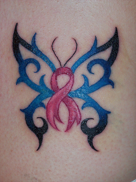 130 Inspiring Breast Cancer Ribbon Tattoos April 2018