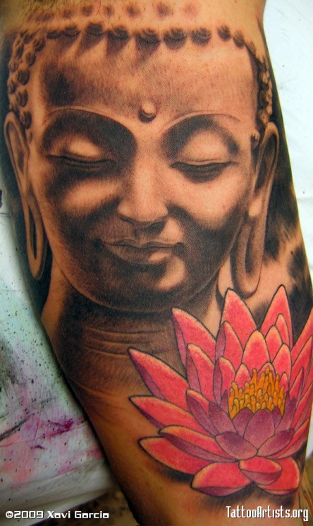 Buddha Tattoo For Back