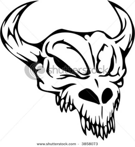 Bull Tattoo Sample