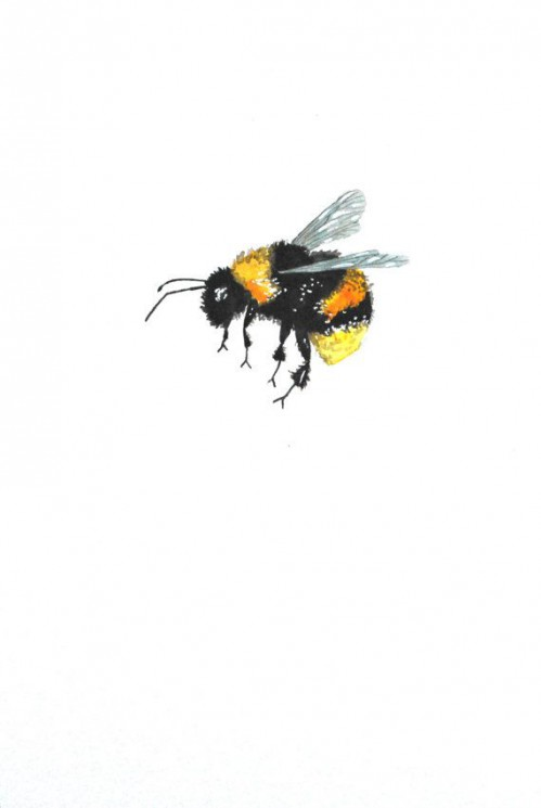 Bumblebee Painting Tattoo