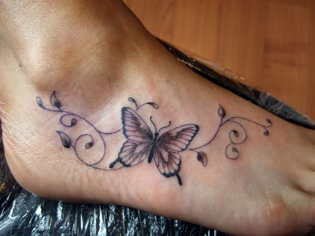 Butterfly Small Tattoos For Girls And Women