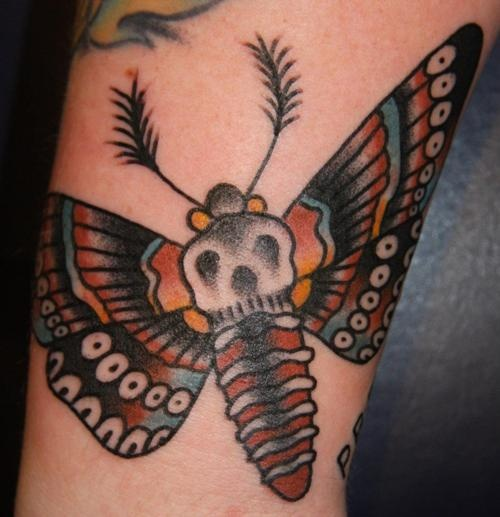 Butterfly Traditional Tattoo For You