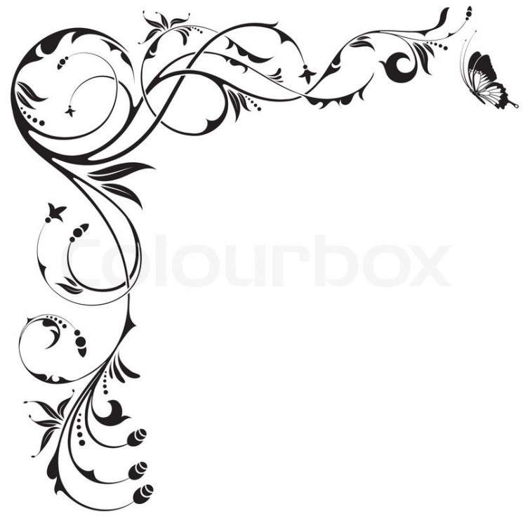 Butterfly With Pink Flower Tattoo Design