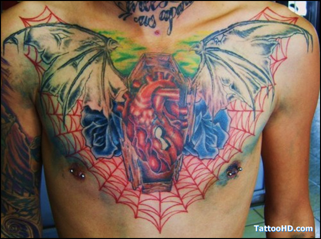 Candle Coffin Tattoo Stages
