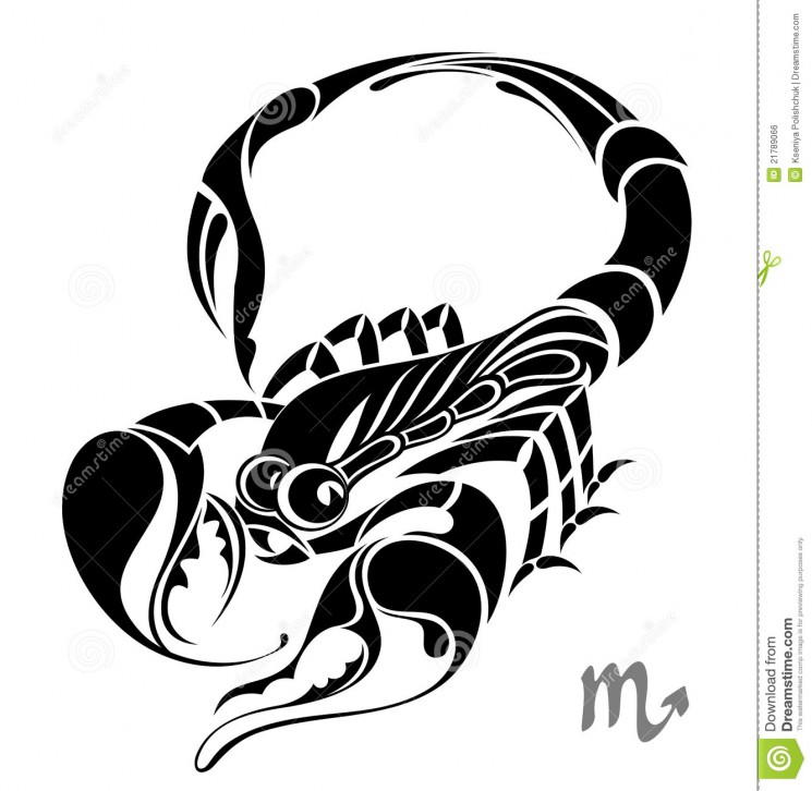 Capricorn Zodiac Vector Sign Tattoo Design