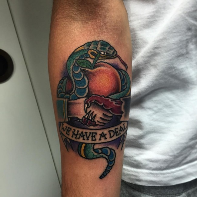 Car & Snake Tattoo photo - 1