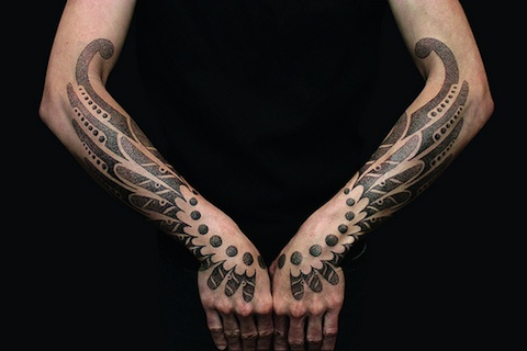 Car Tattoo With Black Ink