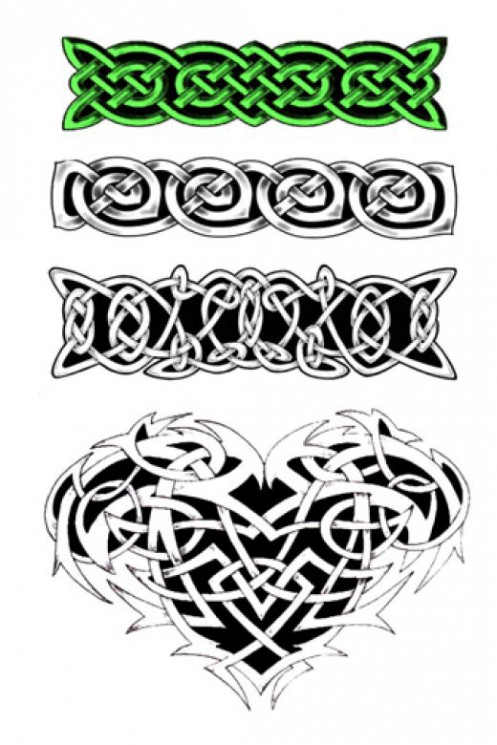 Celtic Armbands Tattoo Designs