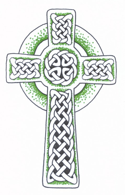 Celtic Irish Heart Tattoo Design