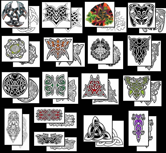 91 Celtic Symbols And Their Meanings For Tattoos Many Of The