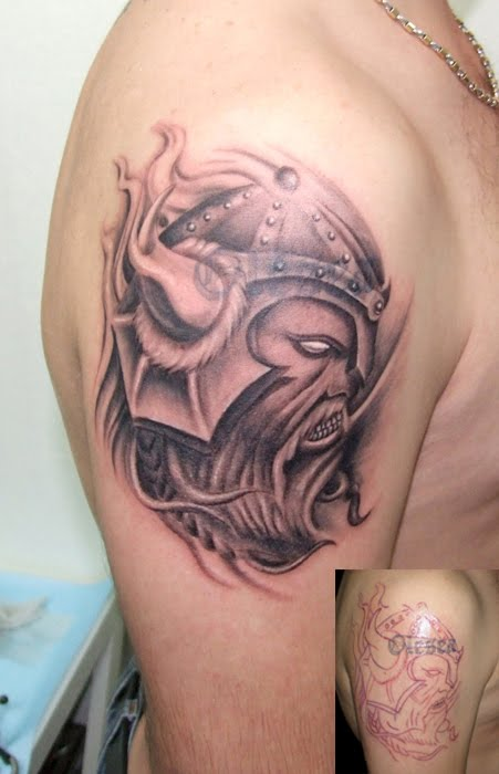 Celtic Viking Tattoo On Shoulder