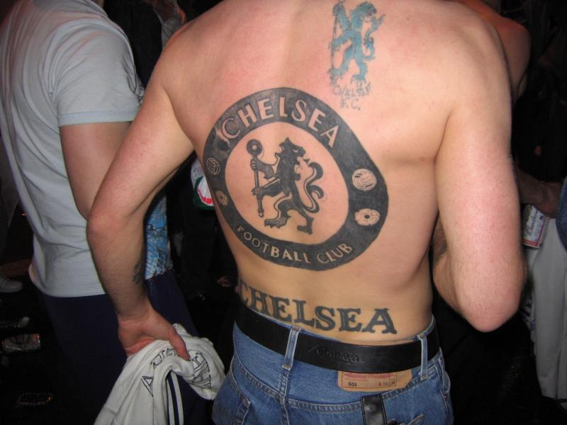 Chelsea Fc Logo Tattoo For Men Photo 3 2017 Real Photo Pictures Images And Sketches Tattoo Collections