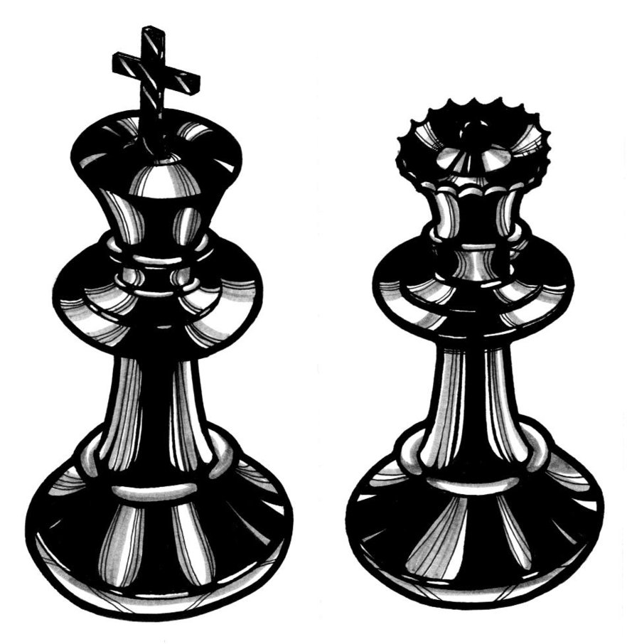Chess King And Queen Tattoo Wallpaper Photo 3 2017 Real Photo