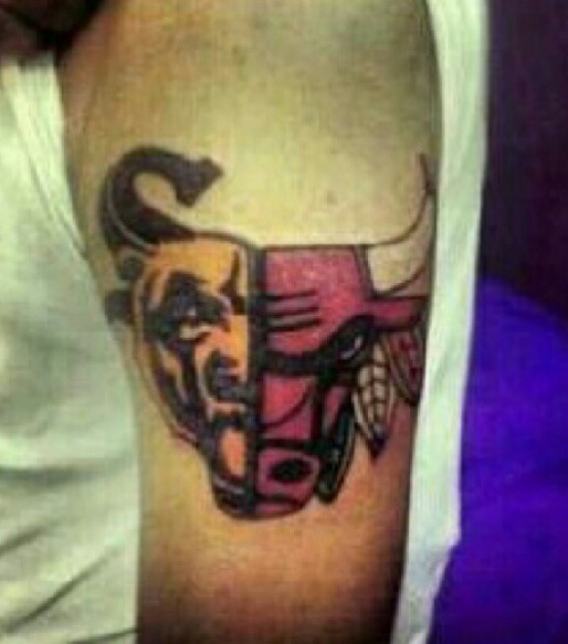 Chicago Bulls Tattoo