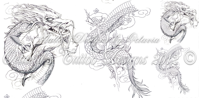other photos to chinese outline dragon tattoo on sleeve